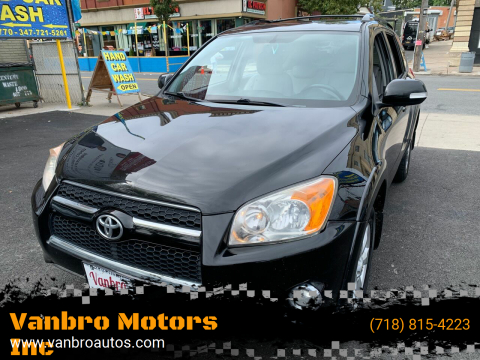 2010 Toyota RAV4 for sale at Vanbro Motors Inc in Staten Island NY