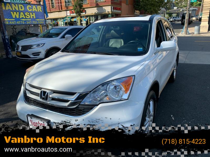 2011 Honda CR-V for sale at Vanbro Motors Inc in Staten Island NY