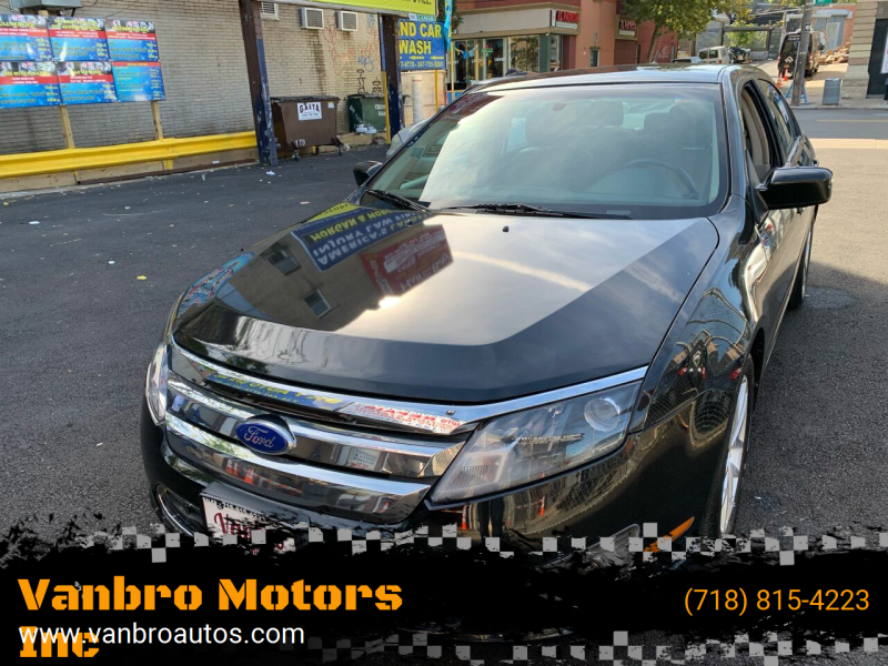 2011 Ford Fusion for sale at Vanbro Motors Inc in Staten Island NY