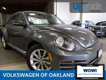 2017 Volkswagen Beetle for sale in Oakland, CA