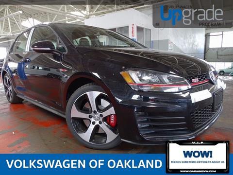 2017 Volkswagen Golf GTI for sale in Oakland, CA