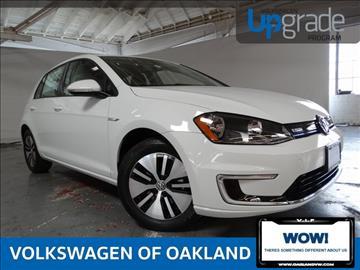 2016 Volkswagen e-Golf for sale in Oakland, CA