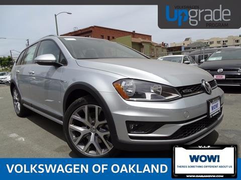2017 Volkswagen Golf Alltrack for sale in Oakland, CA