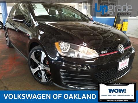 2015 Volkswagen Golf GTI for sale in Oakland, CA