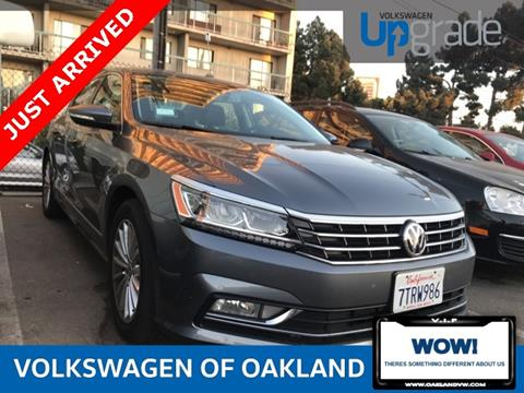 2017 Volkswagen Passat for sale in Oakland, CA