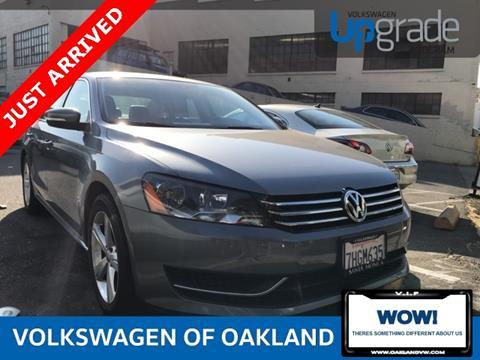 2014 Volkswagen Passat for sale in Oakland, CA