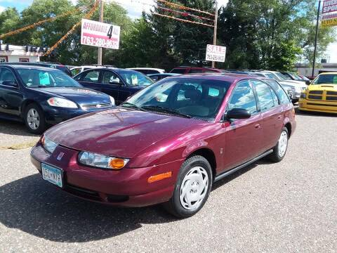 2001 Saturn S-Series for sale at Affordable 4 All Auto Sales in Elk River MN