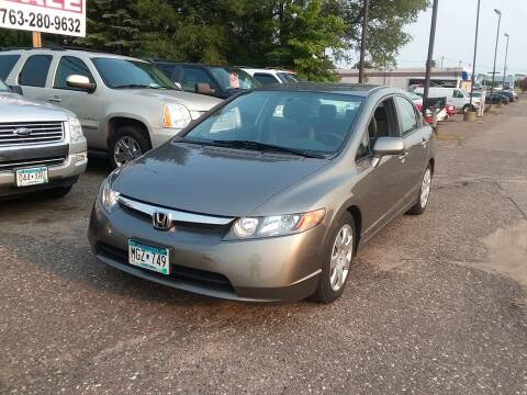 2008 Honda Civic for sale at Affordable 4 All Auto Sales in Elk River MN
