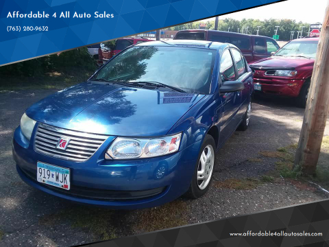 2006 Saturn Ion for sale at Affordable 4 All Auto Sales in Elk River MN
