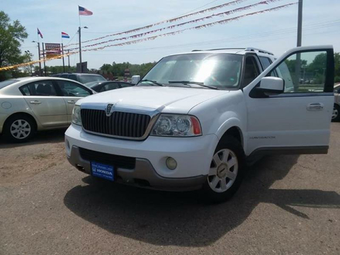 2003 Lincoln Navigator for sale at Affordable 4 All Auto Sales in Elk River MN