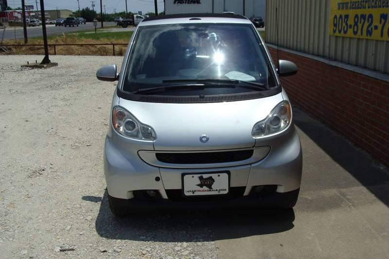 2008 Smart fortwo for sale at Texas Truck Deals in Corsicana TX