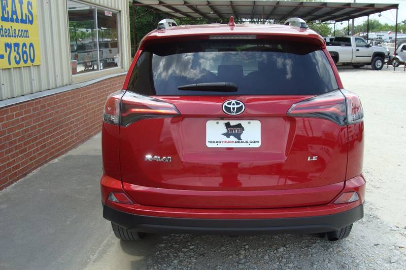 2016 Toyota RAV4 for sale at Texas Truck Deals in Corsicana TX