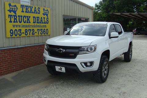 2015 Chevrolet Colorado for sale at Texas Truck Deals in Corsicana TX