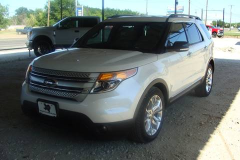 2014 Ford Explorer for sale at Texas Truck Deals in Corsicana TX