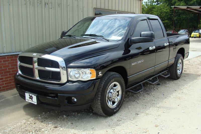 2004 Dodge Ram Pickup 2500 for sale at Texas Truck Deals in Corsicana TX