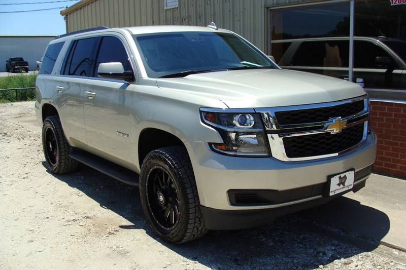 2016 Chevrolet Tahoe for sale at Texas Truck Deals in Corsicana TX