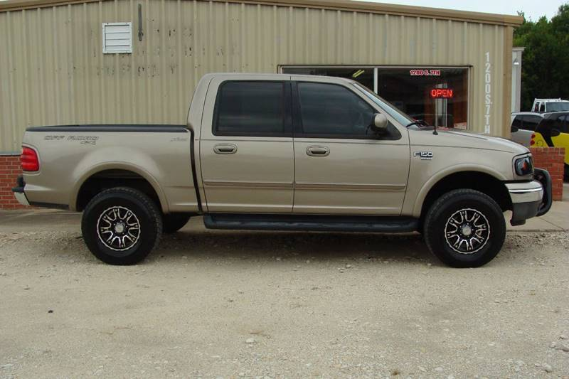 2001 Ford F-150 for sale at Texas Truck Deals in Corsicana TX