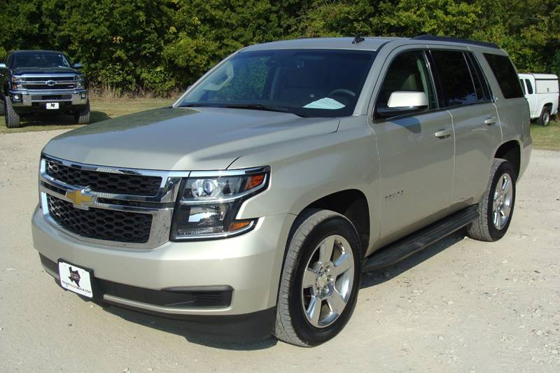 2015 Chevrolet Tahoe for sale at Texas Truck Deals in Corsicana TX