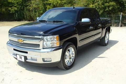 2012 Chevrolet Silverado 1500 for sale at Texas Truck Deals in Corsicana TX