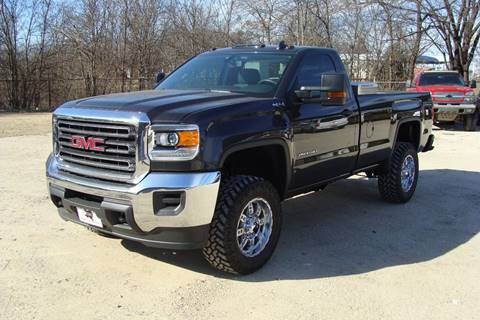 2016 GMC Sierra 2500HD for sale at Texas Truck Deals in Corsicana TX