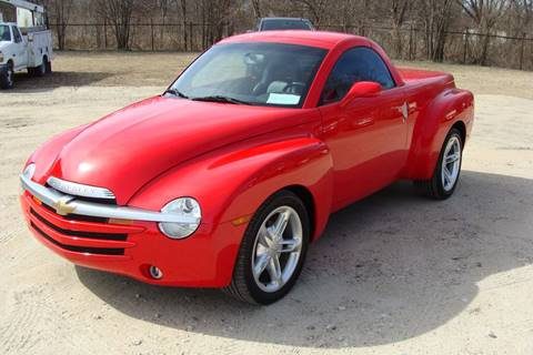 2003 Chevrolet SSR for sale at Texas Truck Deals in Corsicana TX