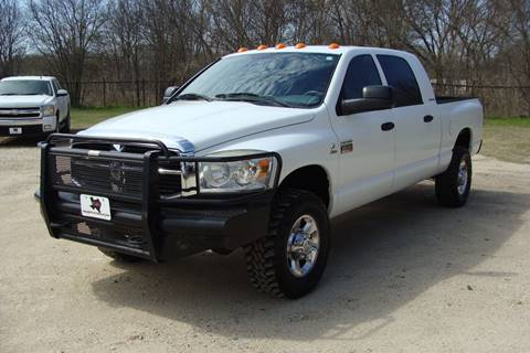2007 Dodge Ram Pickup 2500 for sale at Texas Truck Deals in Corsicana TX