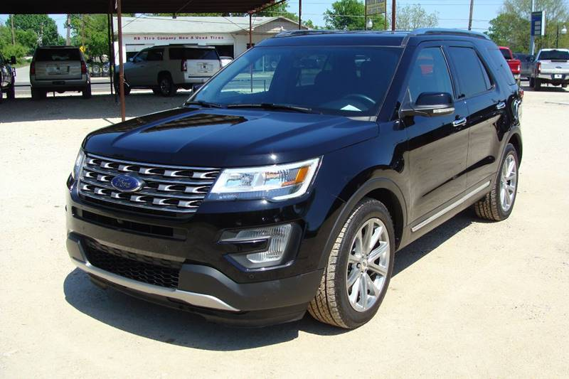 2017 Ford Explorer for sale at Texas Truck Deals in Corsicana TX