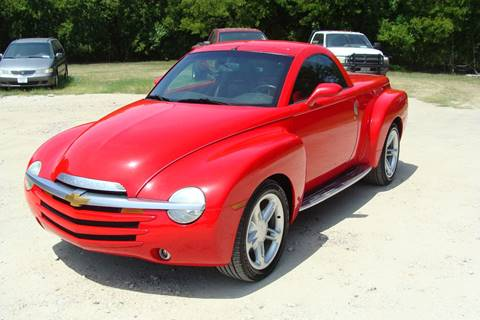 2004 Chevrolet SSR for sale at Texas Truck Deals in Corsicana TX