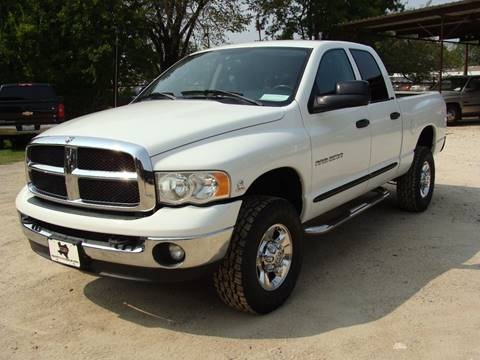 2005 Dodge Ram Pickup 2500 for sale at Texas Truck Deals in Corsicana TX