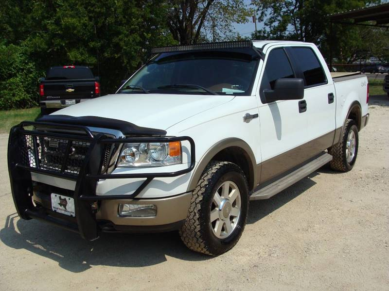 2005 Ford F-150 for sale at Texas Truck Deals in Corsicana TX