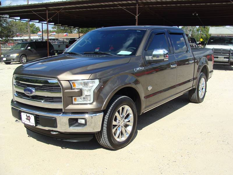 2016 ford f 150 king ranch in corsicana tx texas truck deals. Black Bedroom Furniture Sets. Home Design Ideas