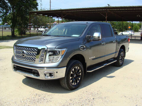 2017 Nissan Titan for sale at Texas Truck Deals in Corsicana TX