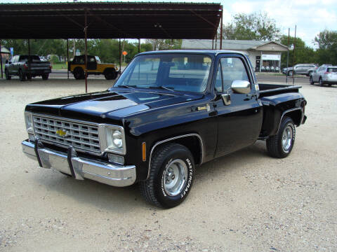 1976 Chevrolet C/K 10 Series for sale at Texas Truck Deals in Corsicana TX