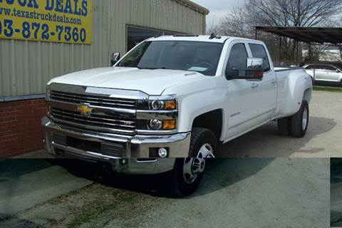 2015 Chevrolet Silverado 3500HD for sale at Texas Truck Deals in Corsicana TX