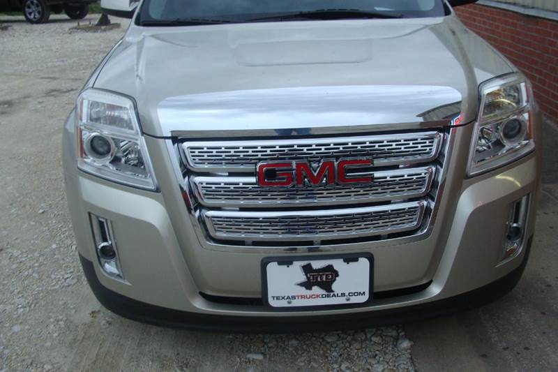 2013 GMC Terrain for sale at Texas Truck Deals in Corsicana TX
