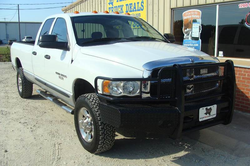 2005 Dodge Ram Pickup 3500 for sale at Texas Truck Deals in Corsicana TX