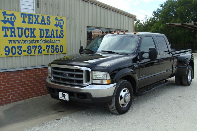 2002 Ford F-350 Super Duty for sale at Texas Truck Deals in Corsicana TX