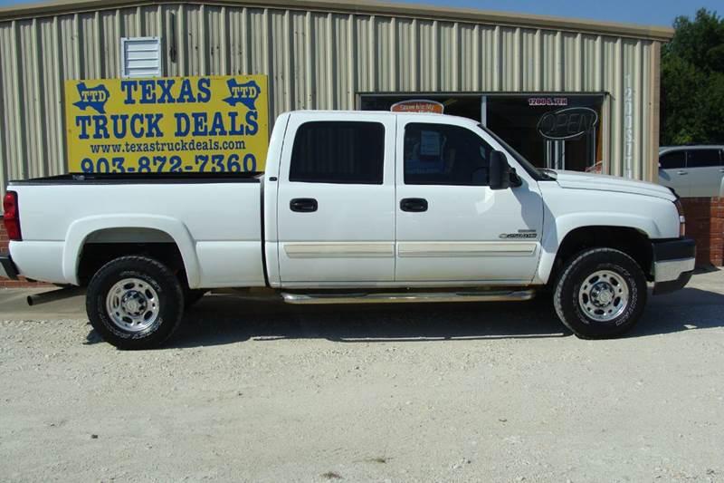 2007 Chevrolet Silverado 2500HD Classic for sale at Texas Truck Deals in Corsicana TX