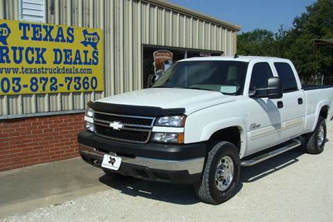 2007 Chevrolet Silverado 2500HD Classic for sale at Texas Truck Deals in Corsicana TX