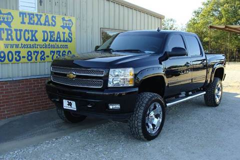 2013 Chevrolet Silverado 1500 for sale at Texas Truck Deals in Corsicana TX