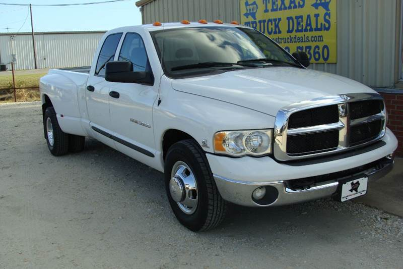 2004 Dodge Ram Pickup 3500 for sale at Texas Truck Deals in Corsicana TX