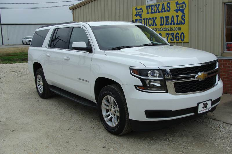 2015 Chevrolet Suburban for sale at Texas Truck Deals in Corsicana TX