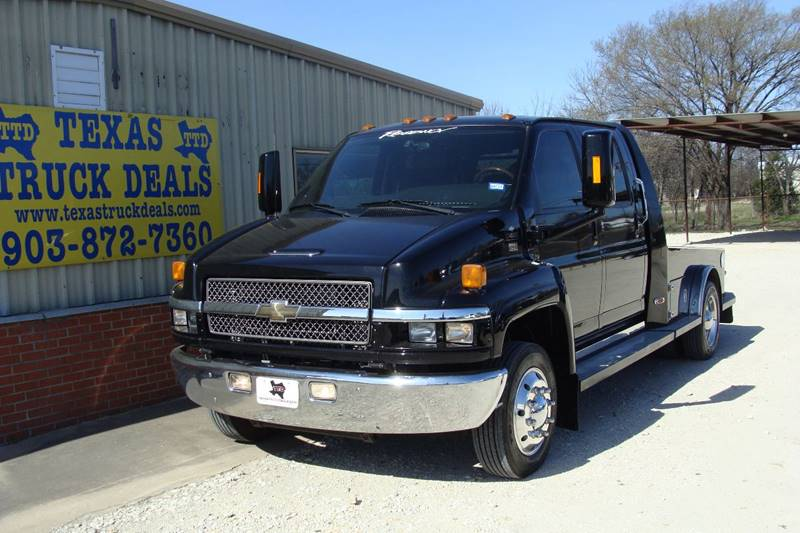 2007 Chevrolet C4500 for sale at Texas Truck Deals in Corsicana TX