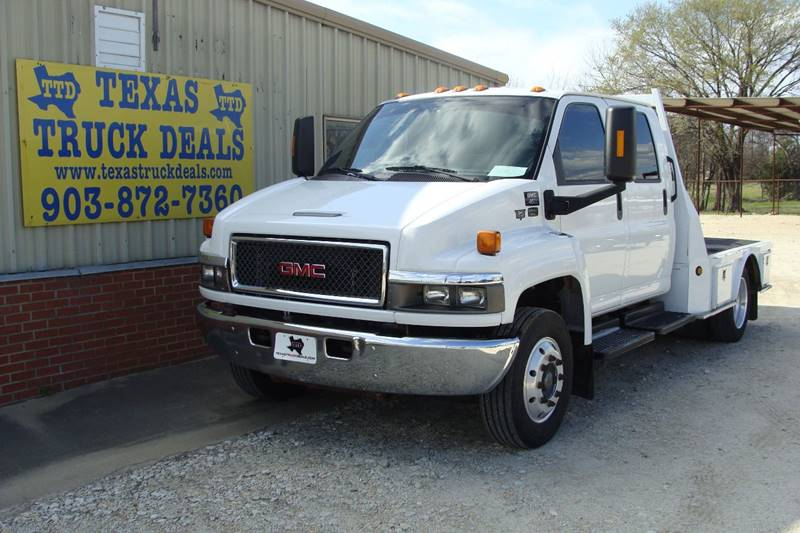 2007 GMC TOPKICK for sale at Texas Truck Deals in Corsicana TX