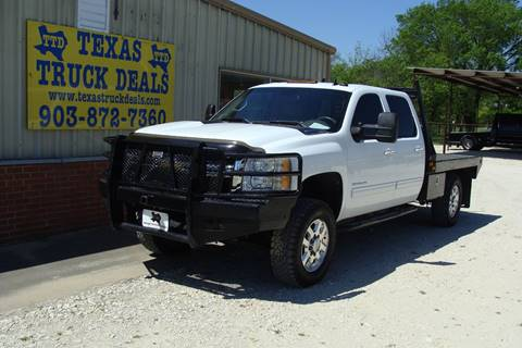 2011 Chevrolet Silverado 3500HD for sale at Texas Truck Deals in Corsicana TX
