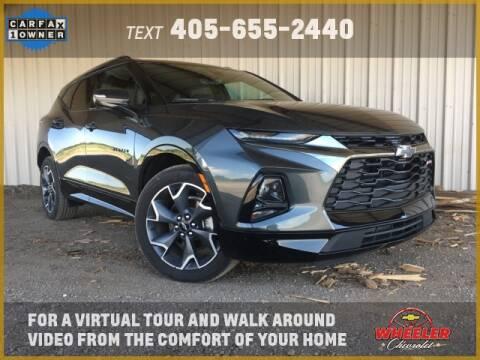 2020 Chevrolet Blazer RS for sale at WHEELER CHEVROLET in Hinton OK