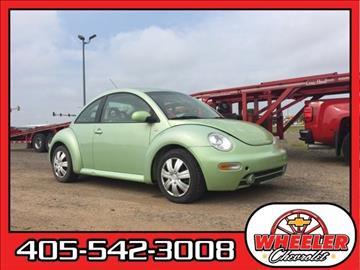 2001 Volkswagen New Beetle for sale in Hinton, OK