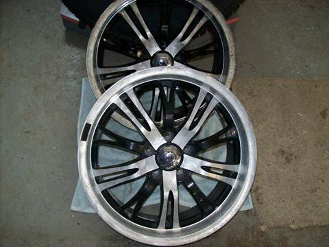 -1 2 Konig Unknown wheels 18x8 5x115 ET40