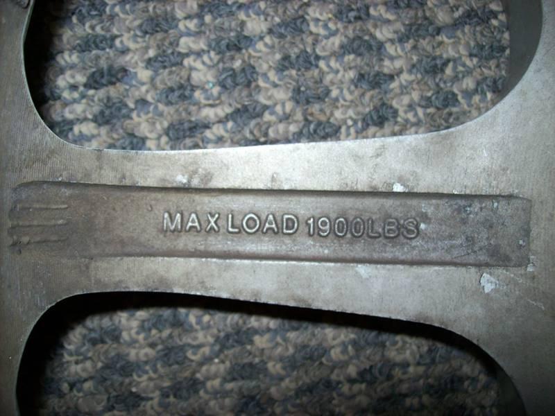 -1 4 MB Seven x Silver machined wheels  - Plainwell MI