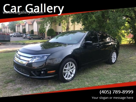 2010 Ford Fusion for sale at Car Gallery in Oklahoma City OK
